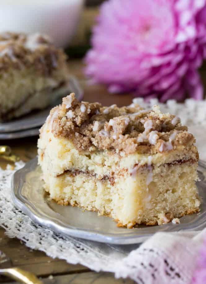 Cinnamon Coffee Cake Sugar Spun Run