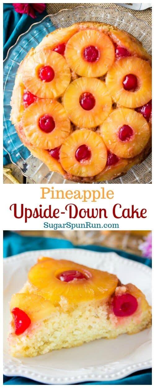 Pineapple Upside Down Cake Sugar Spun Run