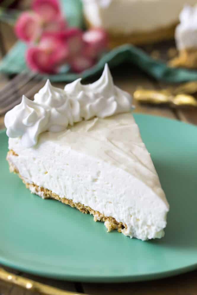 No Bake Cheesecake Slice Sugar Spun Run