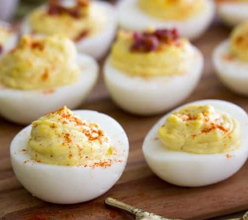Million Dollar Deviled Eggs Sugar Spun Run