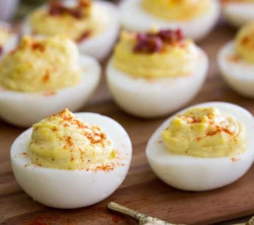 million dollar deviled eggs sugar spun run
