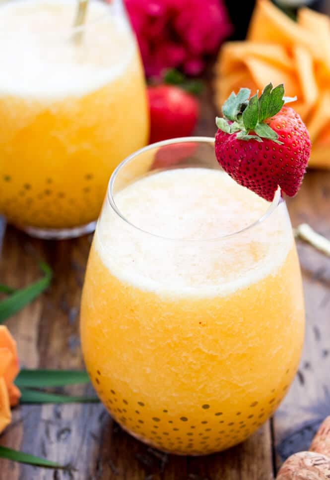 Peach Bellini Recipe || Sugar Spun Run