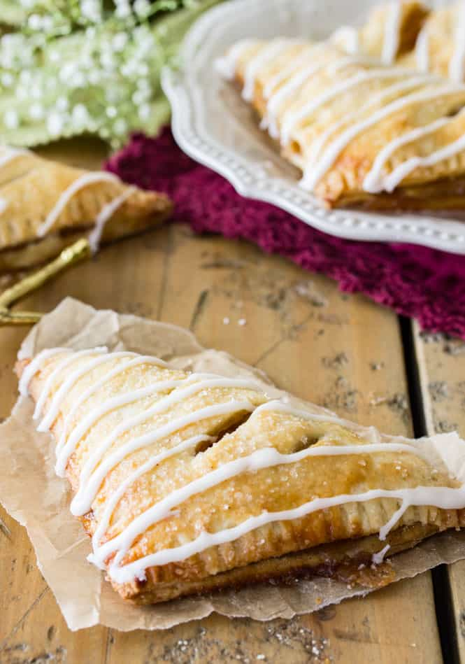 Easy Apple Turnover Recipe || Sugar Spun Run