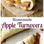 Homemade Apple Turnovers