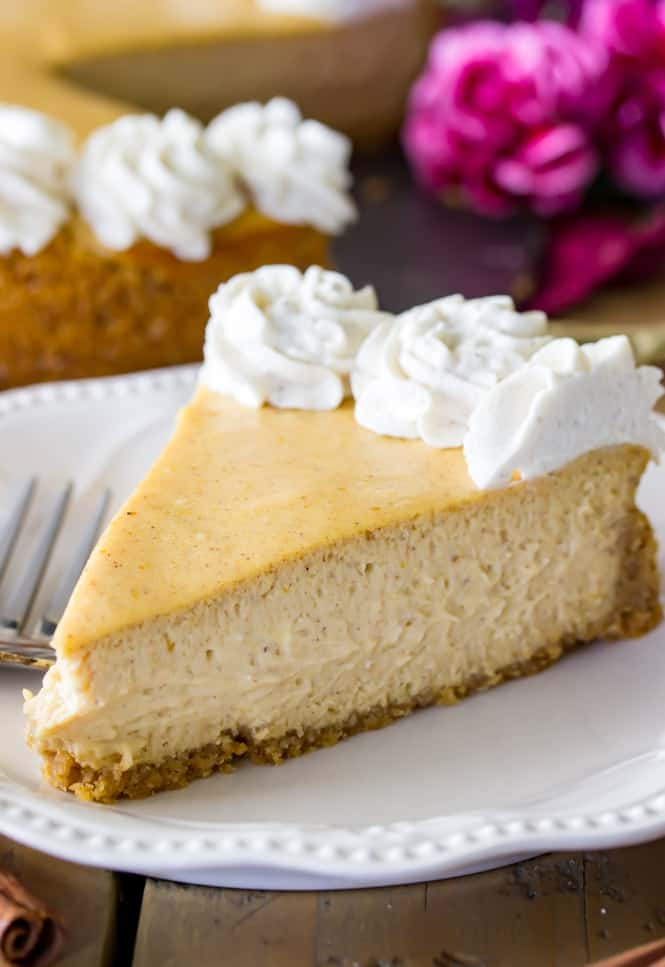 Pumpkin Cheesecake Recipe from Sugar Spun Run