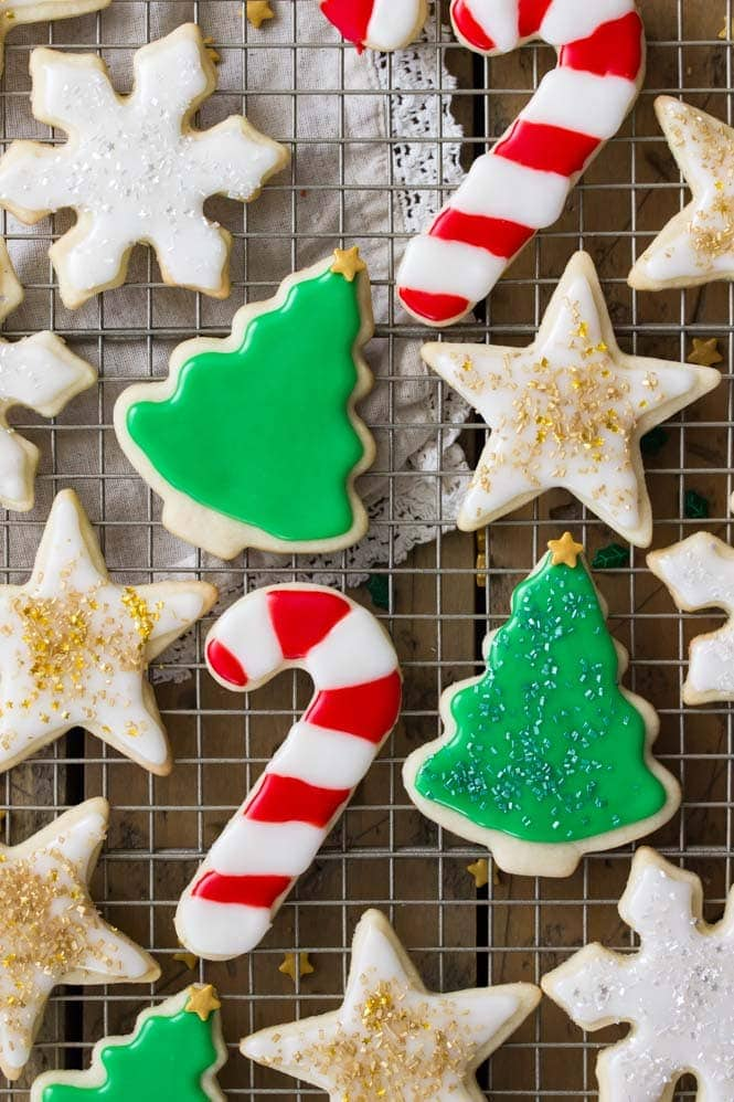 The BEST decorated sugar cookies!