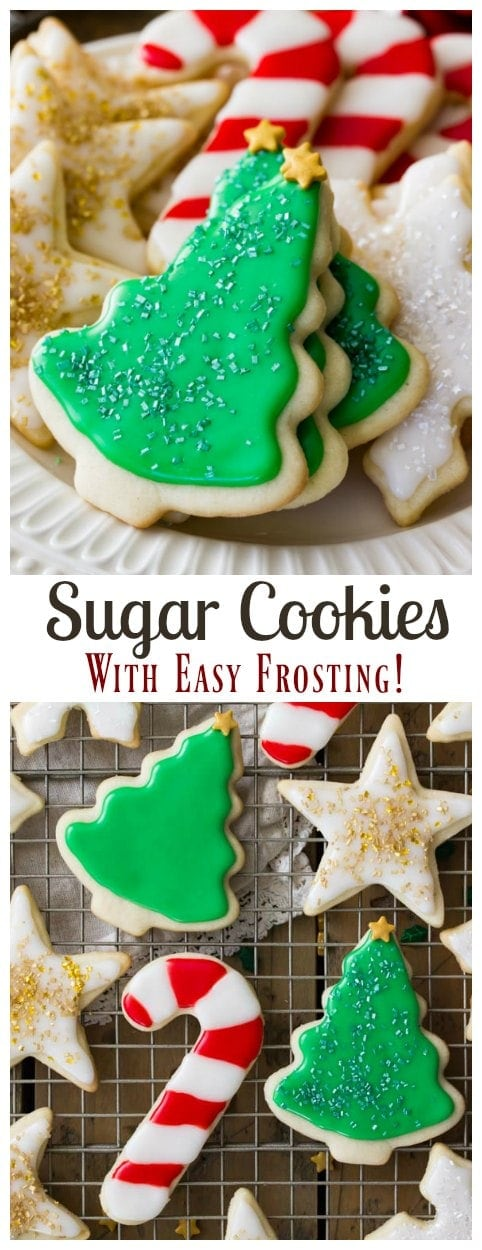 Sugar cookie frosting without confectioners