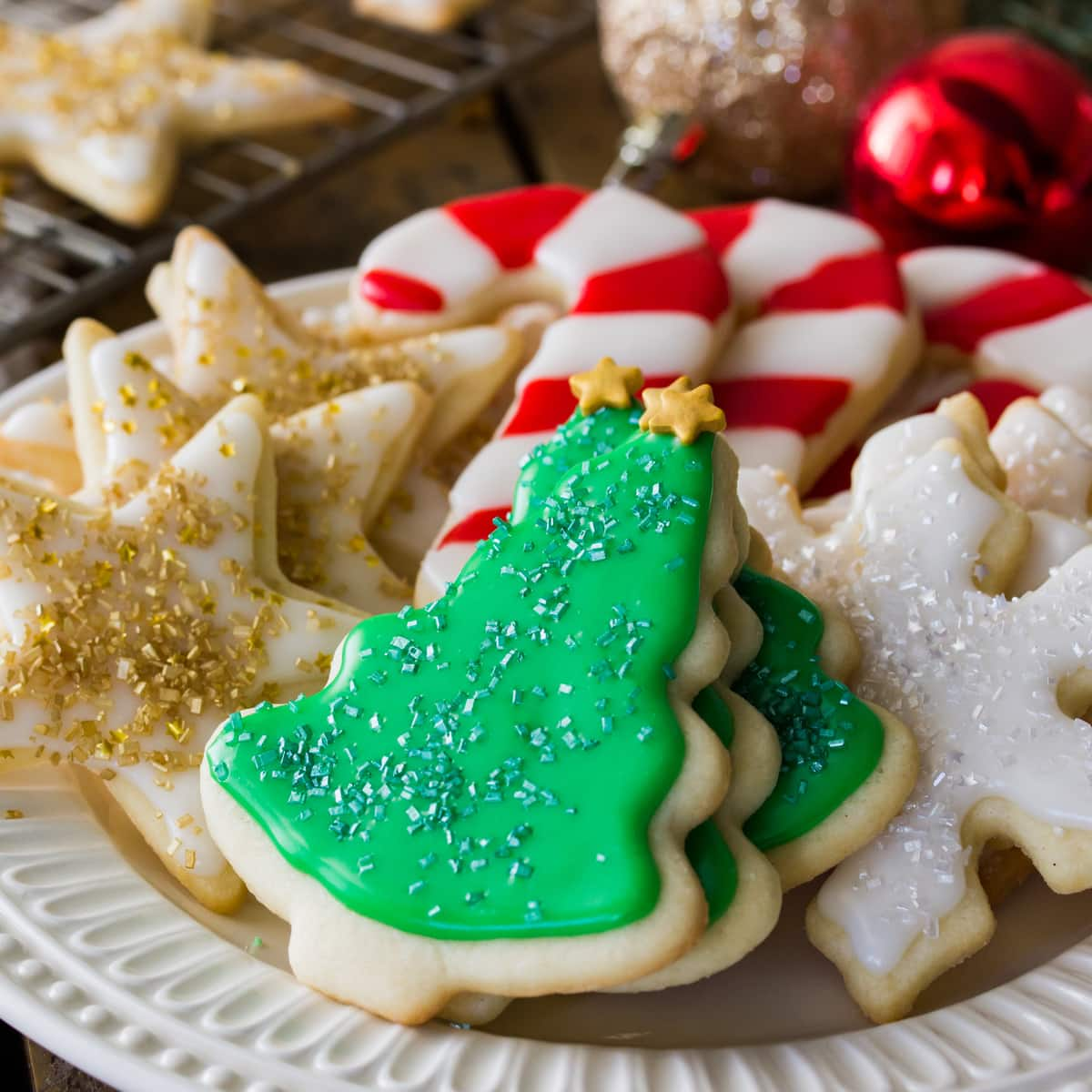 Easy way to make christmas cookies ahead