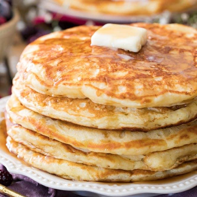 Buttermilk pancake recipe with baking soda
