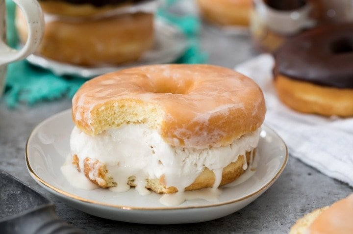 How To Make Donut Ice Cream Sandwiches