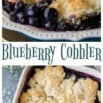 Blueberry Cobbler