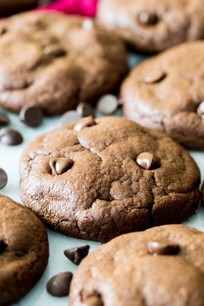 Brownie Cookies cooling after baking