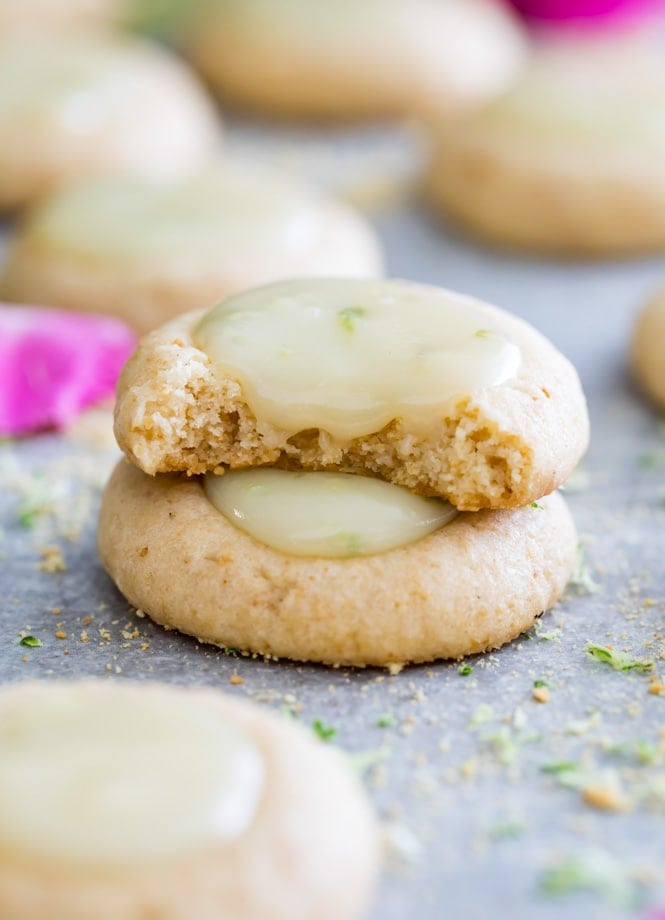 Two Key Lime Pie Cookies