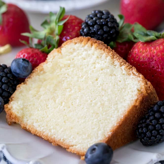 The Best Pound Cake Recipe (with Video)!