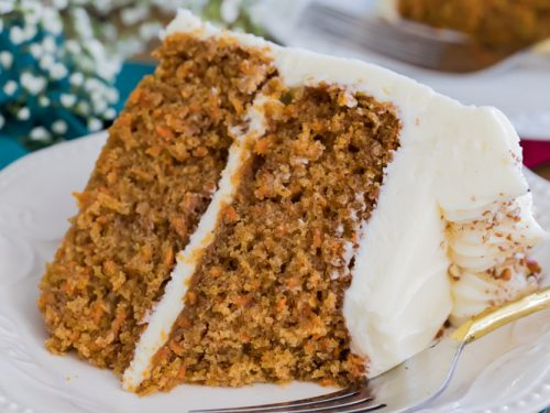 The Best Carrot Cake Recipe With Video Sugar Spun Run
