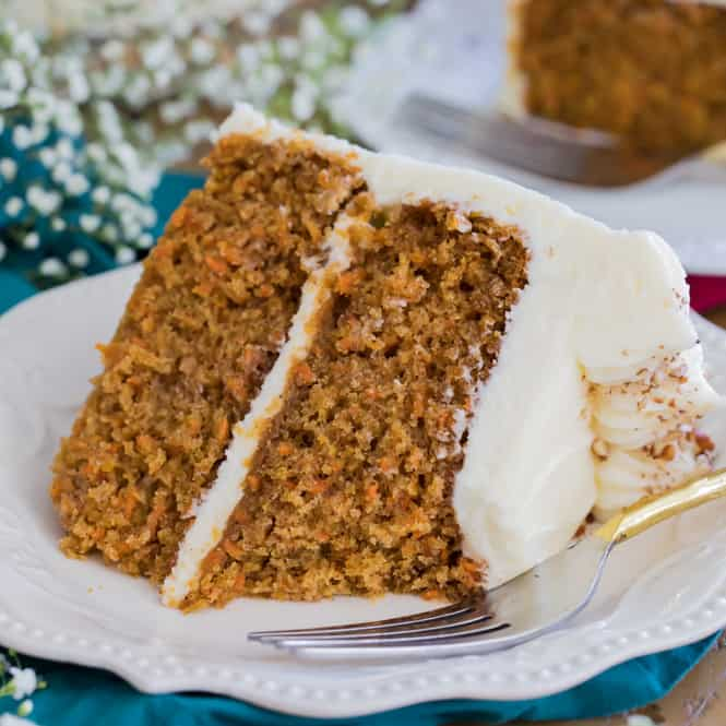 Carrot And White Chocolate Cake