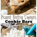 Peanut Butter S'mores Cookie Bars