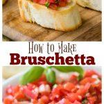 How to make bruschetta
