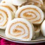 Potato Candy pinwheel slices