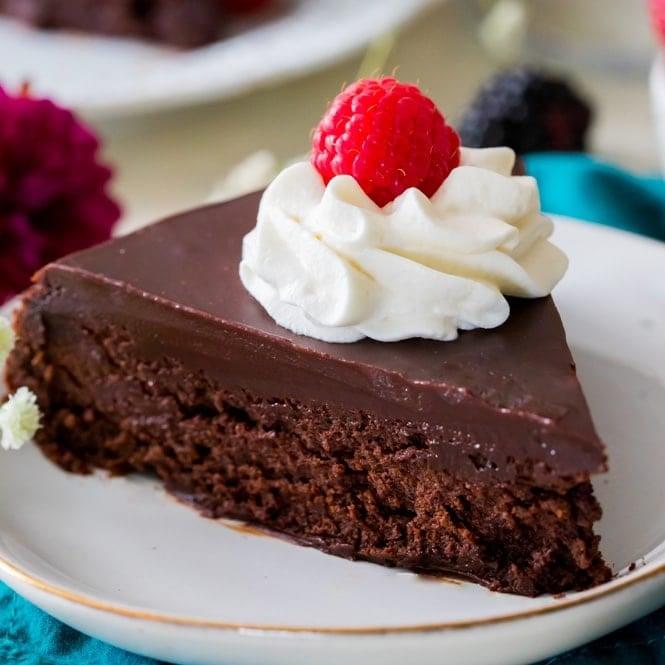 Flourless Chocolate Cake Sugar Spun Run