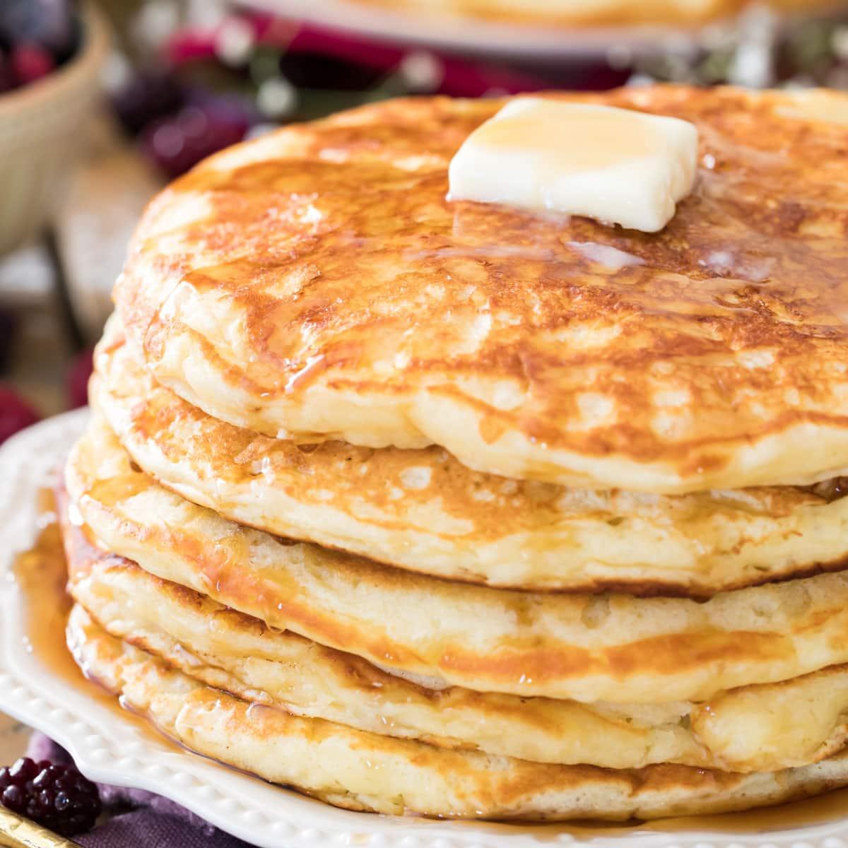 The Best Buttermilk Pancakes Recipe Sugar Spun Run