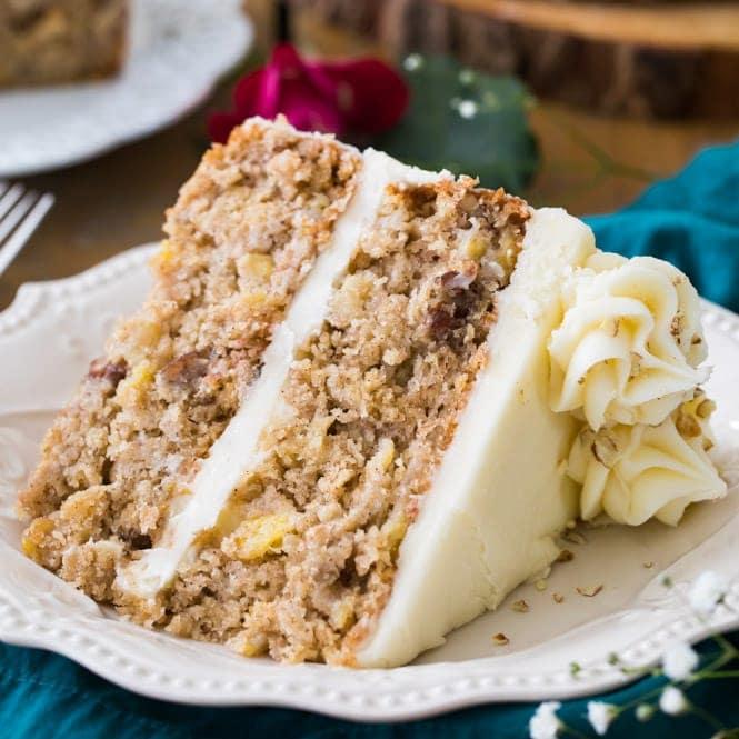 Southern Pineapple Layer Cake Recipes: Hummingbird Cake