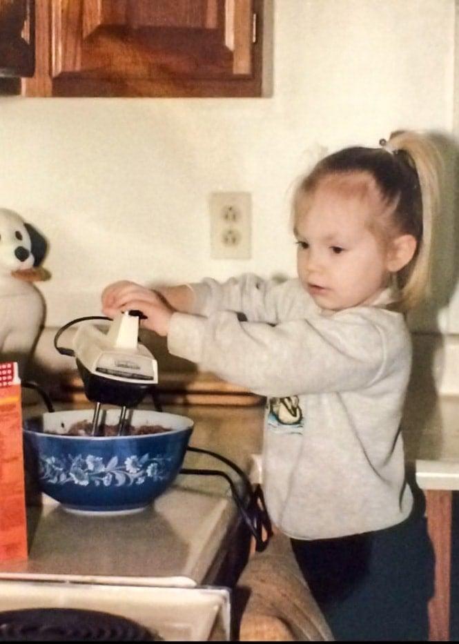 sugar spun run, baking, circa 1993