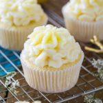 lemon cupcake with icing