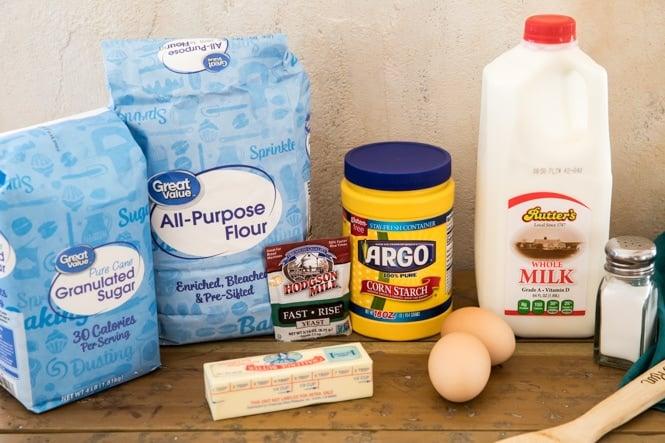 Dinner roll recipe ingredients