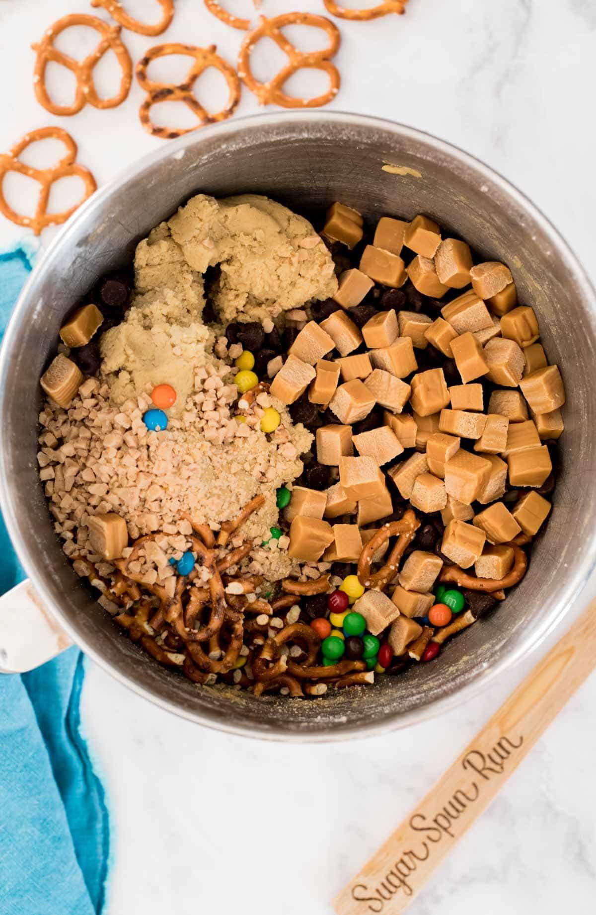 Kitchen sink cookie ingredients