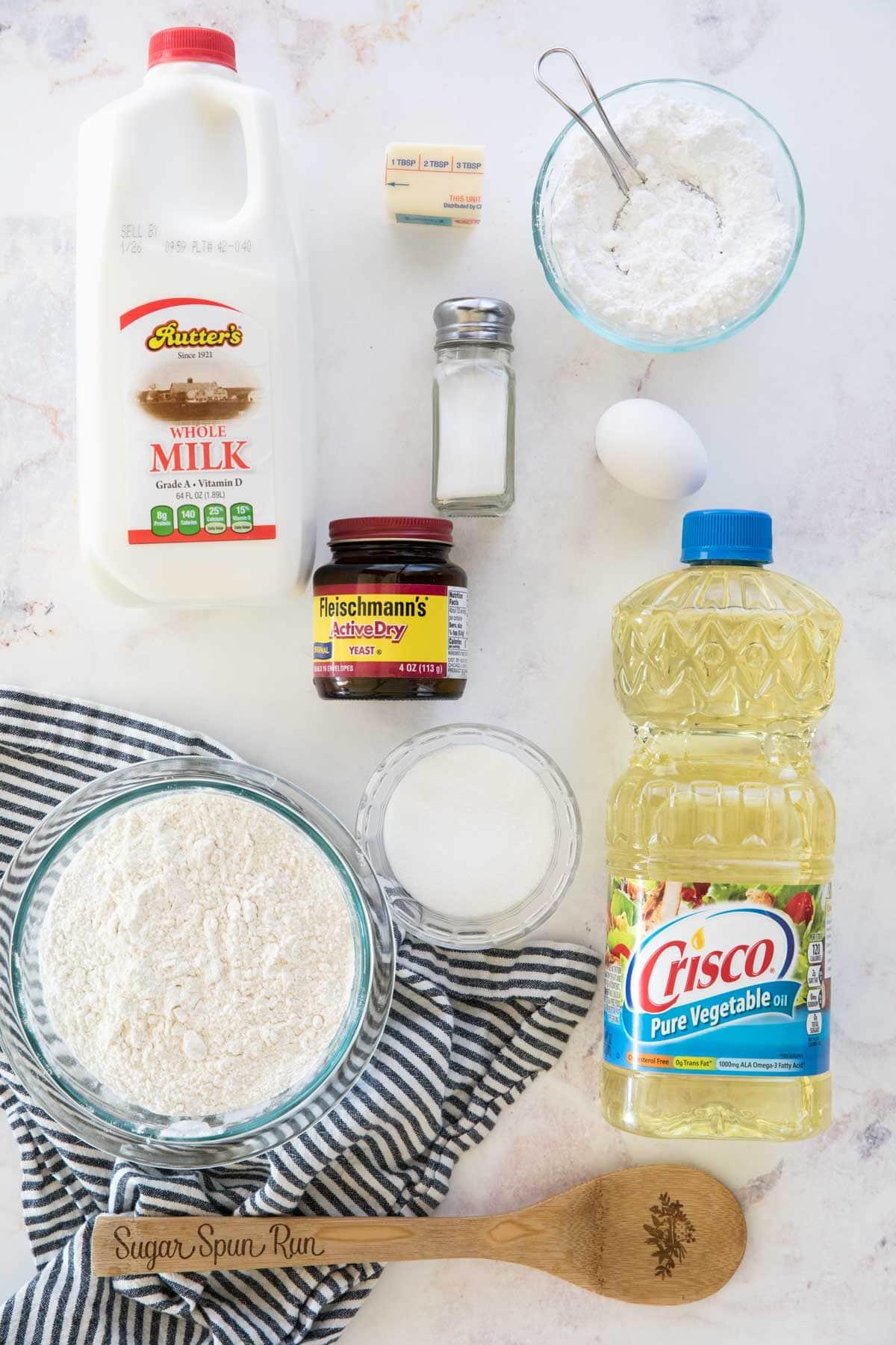 Beignet ingredients